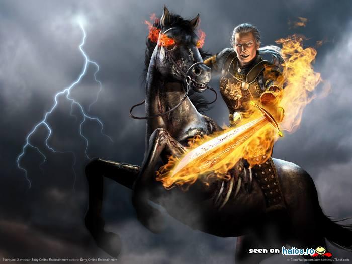 calaret_cal_negru_sabie_de_foc_game_walpaper_fulger_noapte.jpg